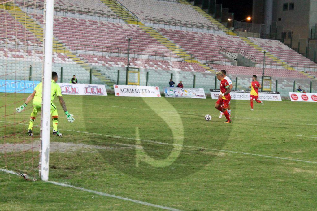 Il gol dell'1-1 (foto Elena Anna Andronico)