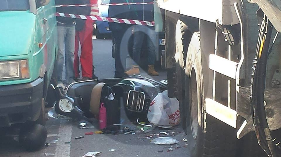 Messina, via La Farina: incidente mortale, questa mattina alle 11