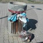#Barcellona. Il lungomare di Spinesante deturpato dai rifiuti