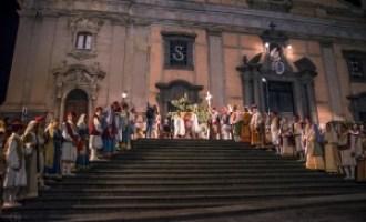 Rievocazione storica arbereshe a Biancavilla