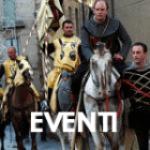 Sicilia Turistica homepage, menu icona eventi