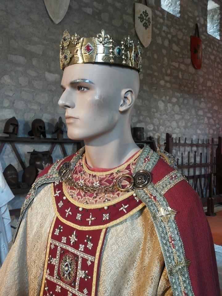 Abito nuziale di Federico III confezionato da Katia Foti
