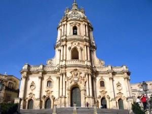 The Baroque Curch of Modica