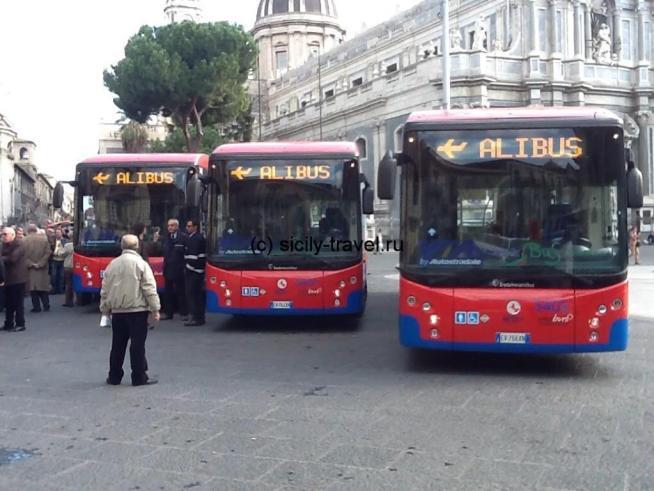 Автобус Alibus Катания