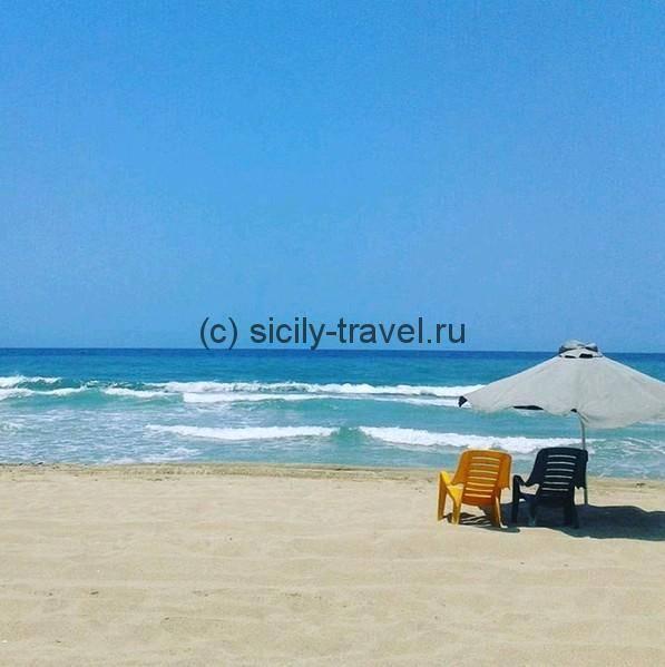 Пляж Ла Плайя Катания