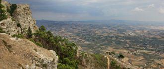 Панорамы с высоты Эриче