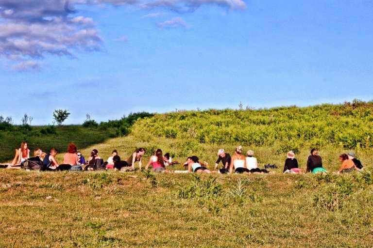Yoga Trek Sicily Experience