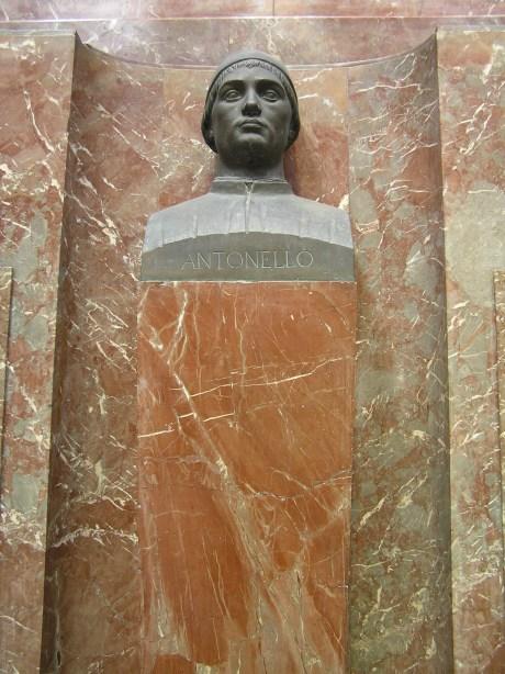 Antonello da Messina Municipio di Messina