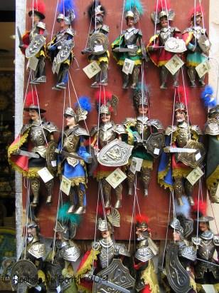 Sicilian puppets always an evergreen!