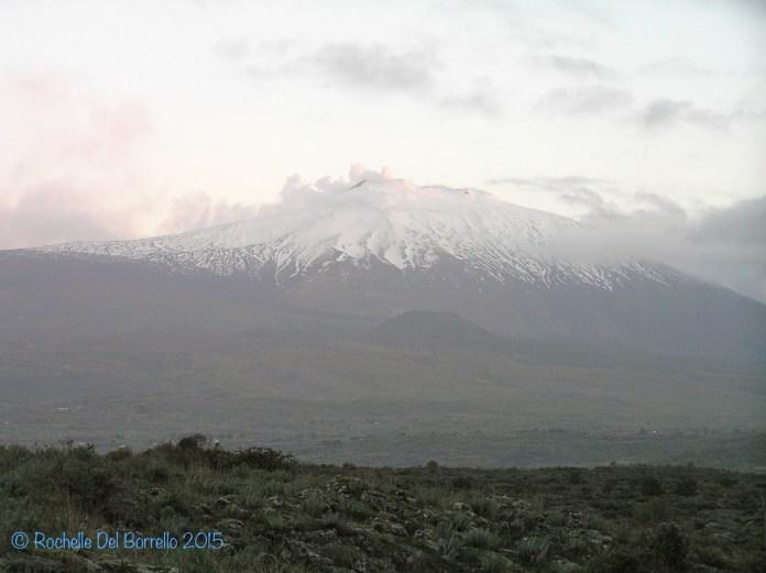 Etna in the winter