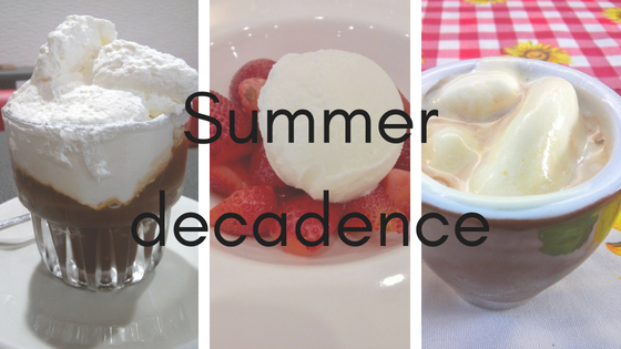 Summer decadence post title