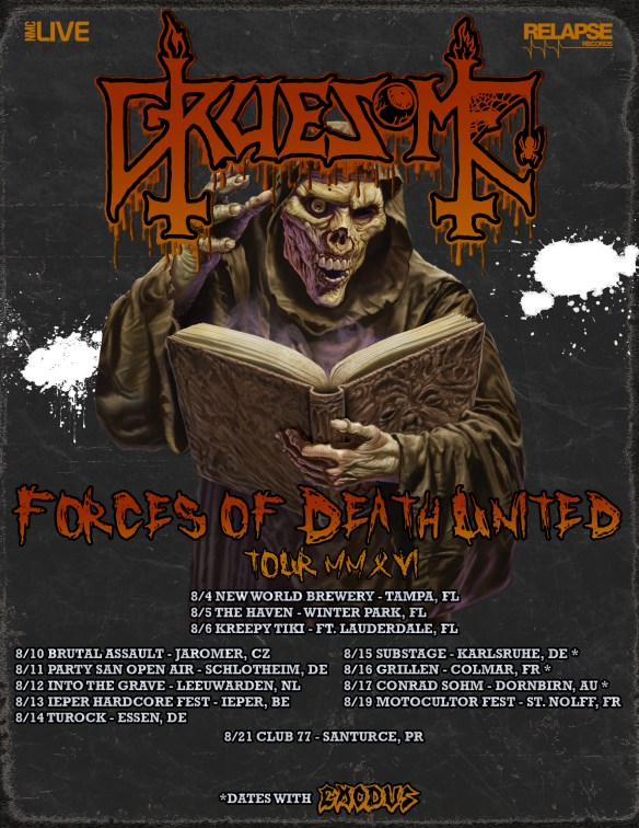 GRUESOME TOUR FLYER 2016