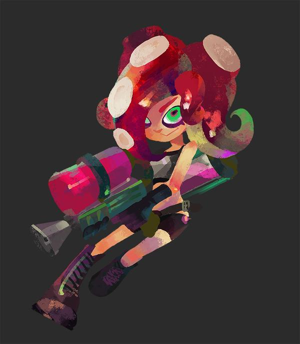 octoling without goggles revealed