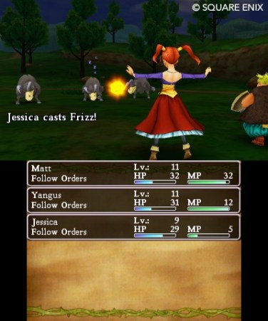 Jessica's fireballs probably come from her chest.