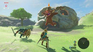 Take on Bokoblin camps for hearty treasure.