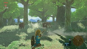 You can still go veggie in Breath of the Wild.