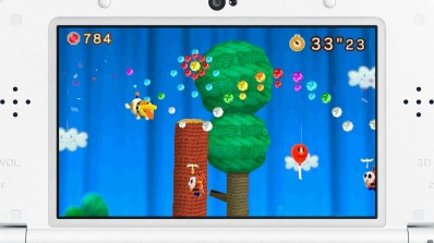 Poochy reaches new heights in Dash mode.