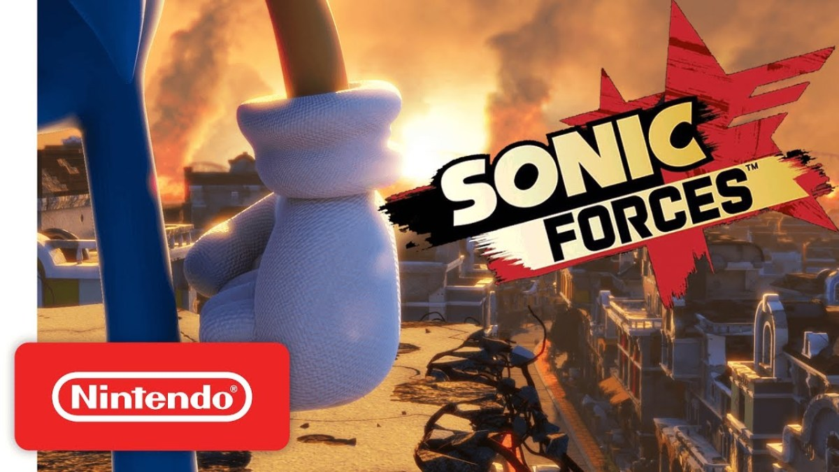 Japan Sonic Forces Demo Available For Nintendo Switch On