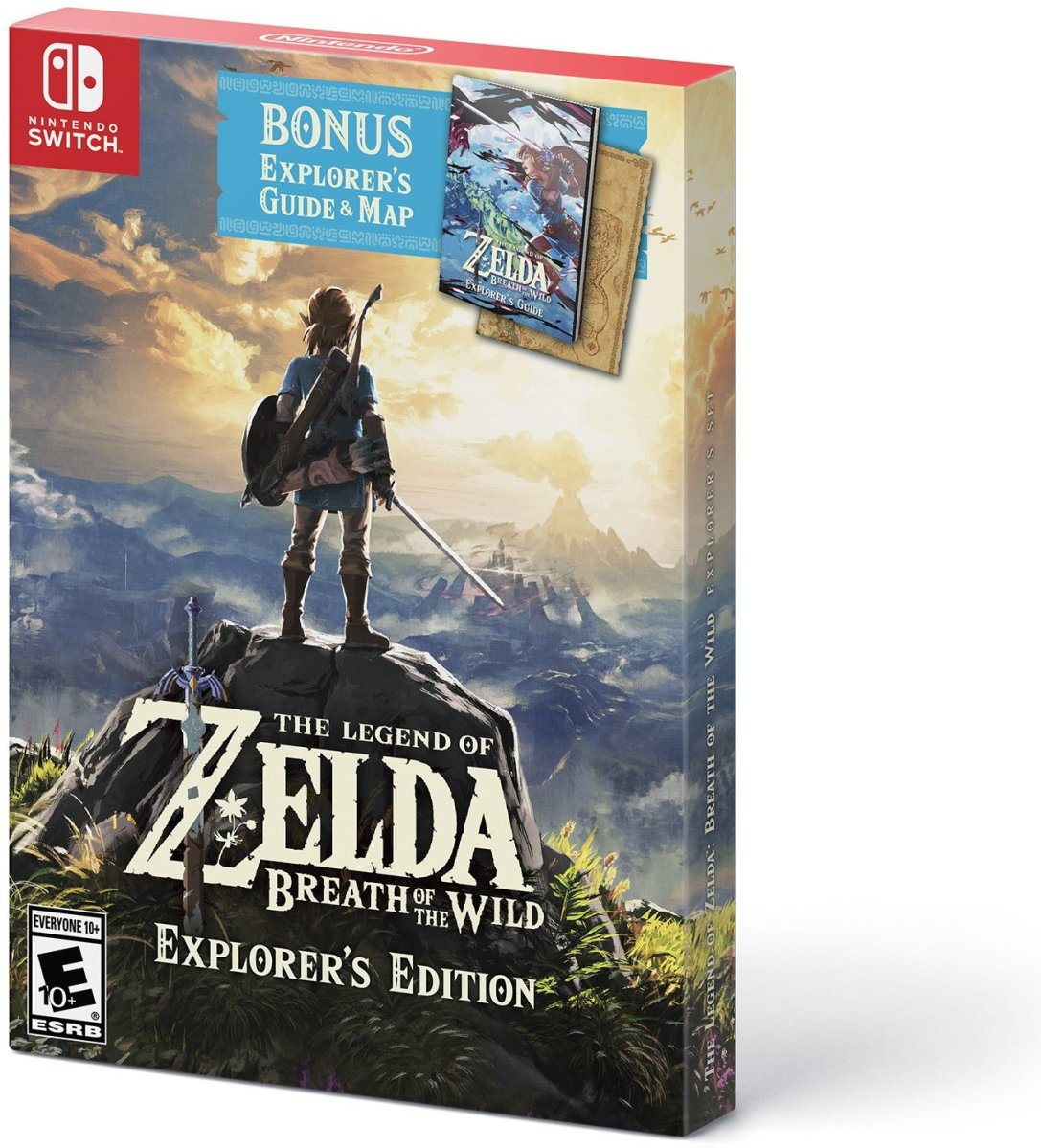 Zelda Breath Of The Wild Explorer S Edition Available