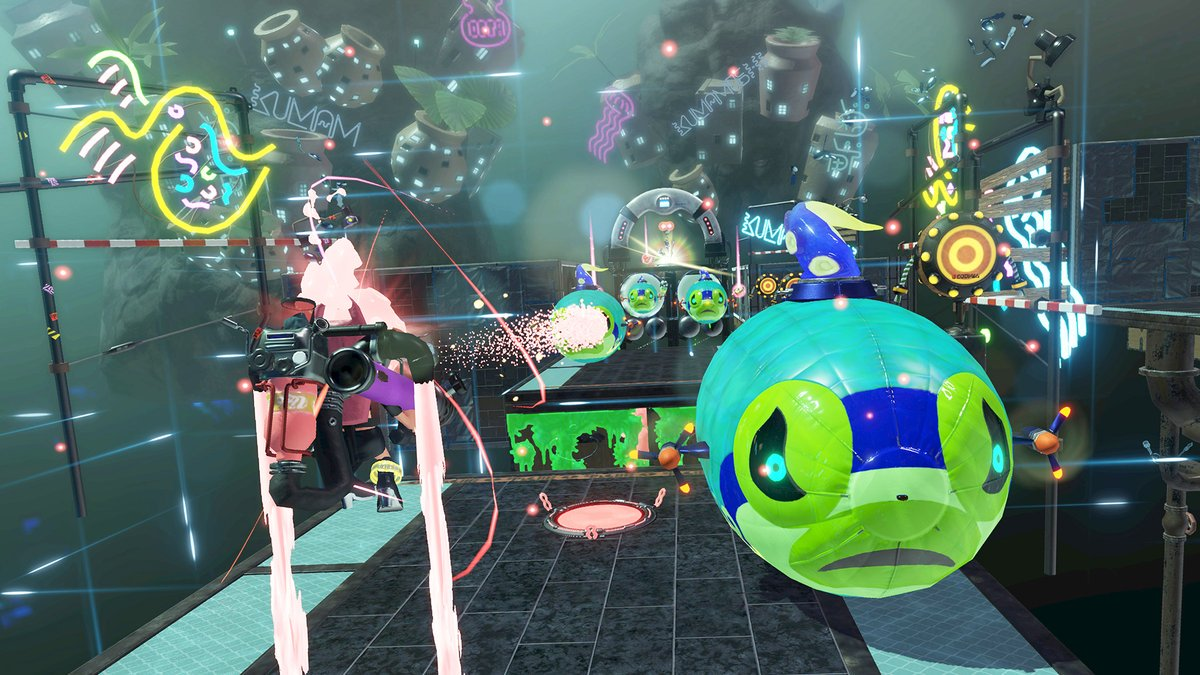 Nintendo Europe Shows Off A Station In Splatoon 2 Octo Expansion  My Nintendo News