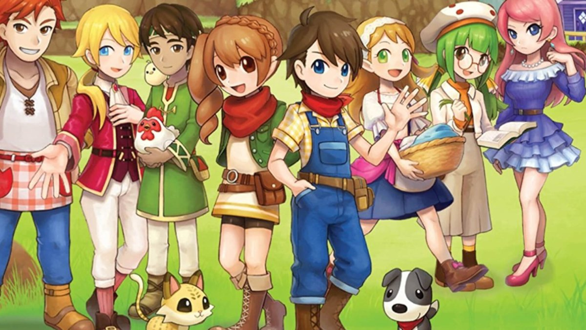 Harvest Moon Mad Dash Coming To Nintendo Switch 29th