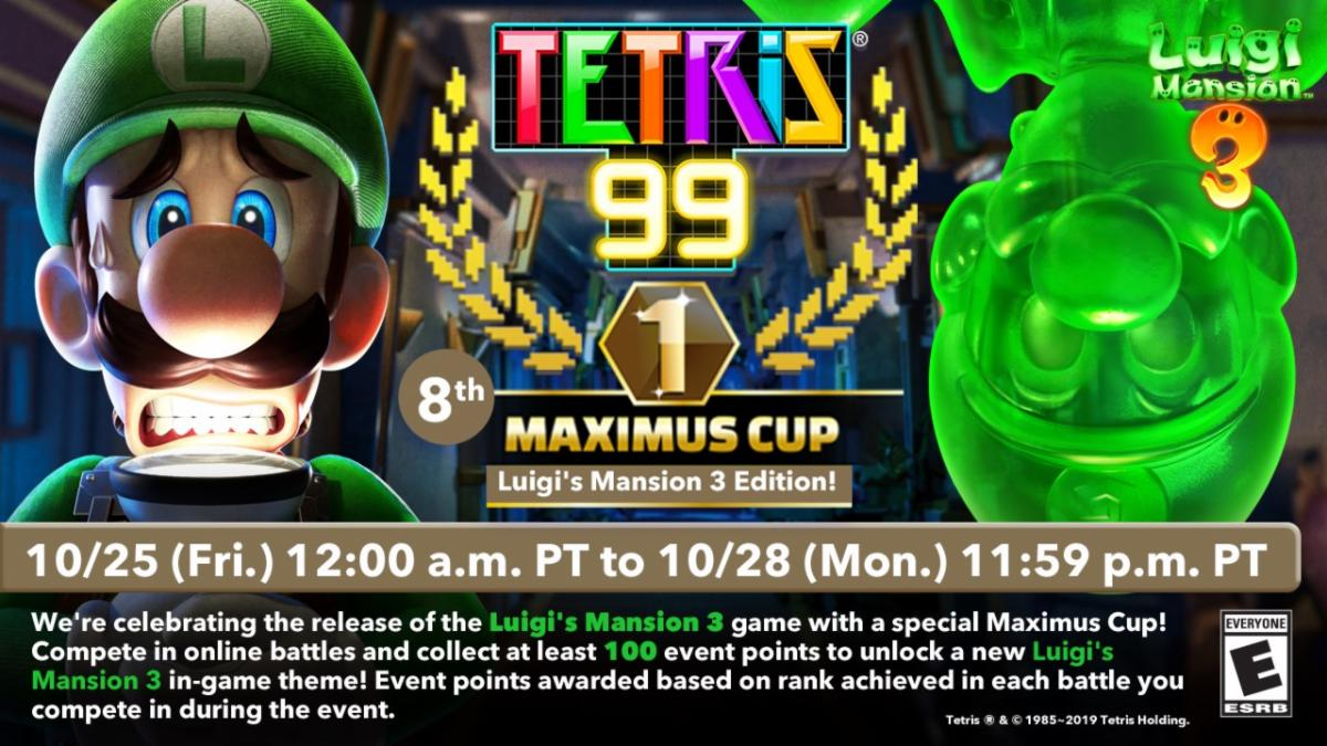 Luigi And Gooigi Add Spooky Fun To Tetris 99 My Nintendo