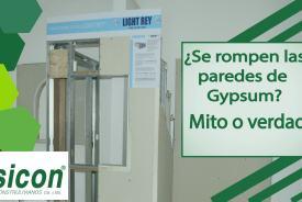 paredes de gypsum