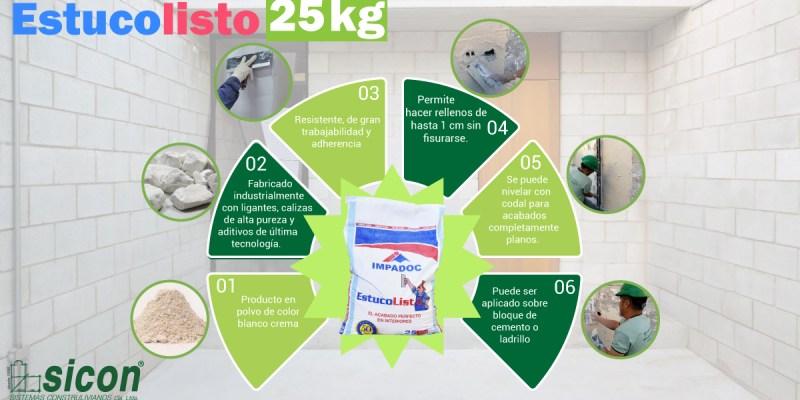 Infografía Estucolisto