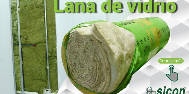 Lana de vidrio-paredes-fibrocemento-gypsum
