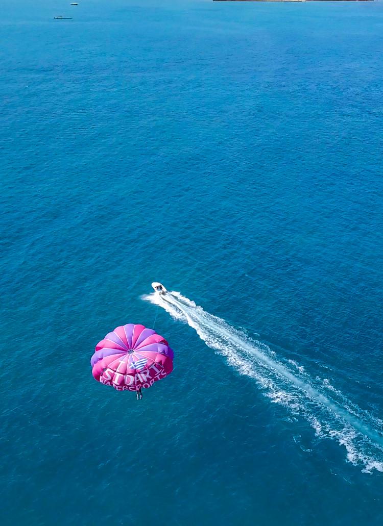 paraglide sidari watersports