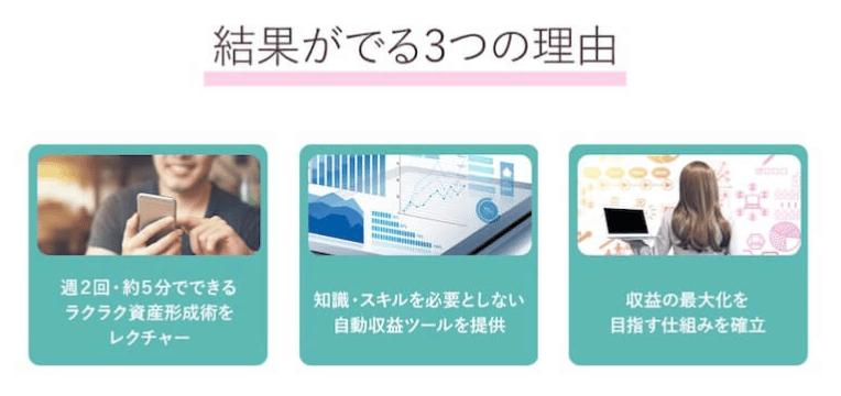 資産形成アプリ