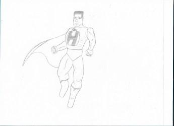 Super Hank, by DracoSummoner