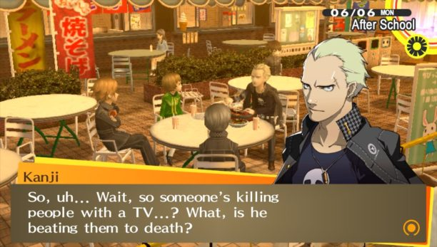No, Kanji, that's not how it's happening... E for effort though.