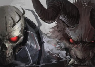 zodd skull knight