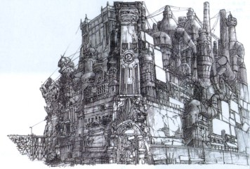 The Development of Final Fantasy VII art