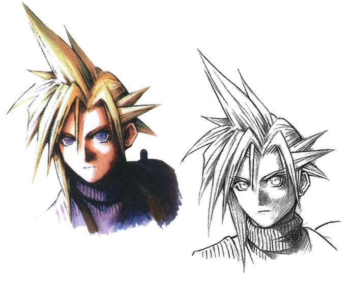 final fantasy vii development young