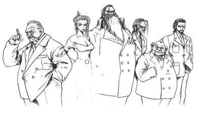 final fantasy vii development Shinra