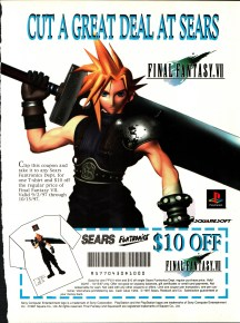 Development of Final Fantasy VII shirt