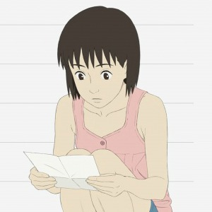 look a letter to momo