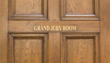 Grand jury room door