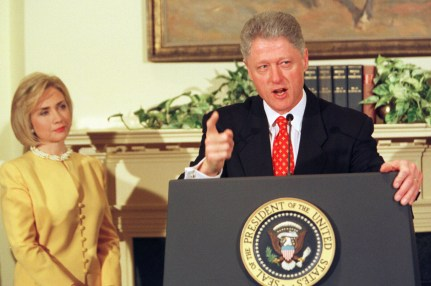President Clinton denies allegations concerning Monica Lewinsky