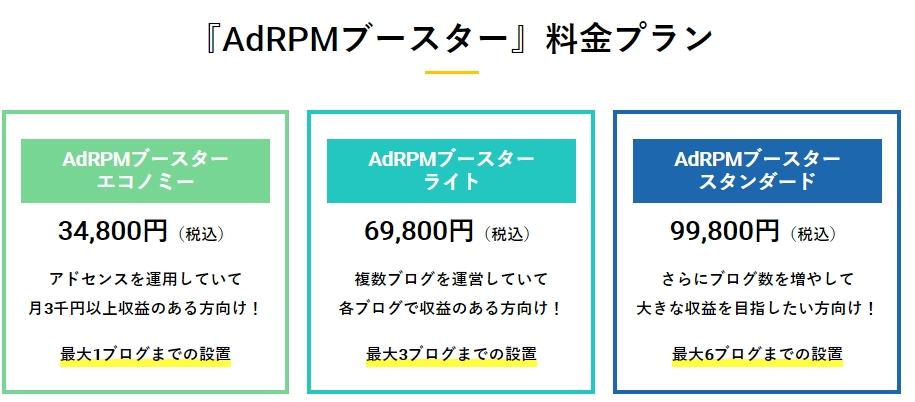 button-only@2x アドセンスのクリック単価,クリック率,ページRPMが低い…AdRPMブースターで解決!
