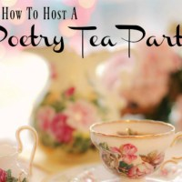 Poetry Tea Party