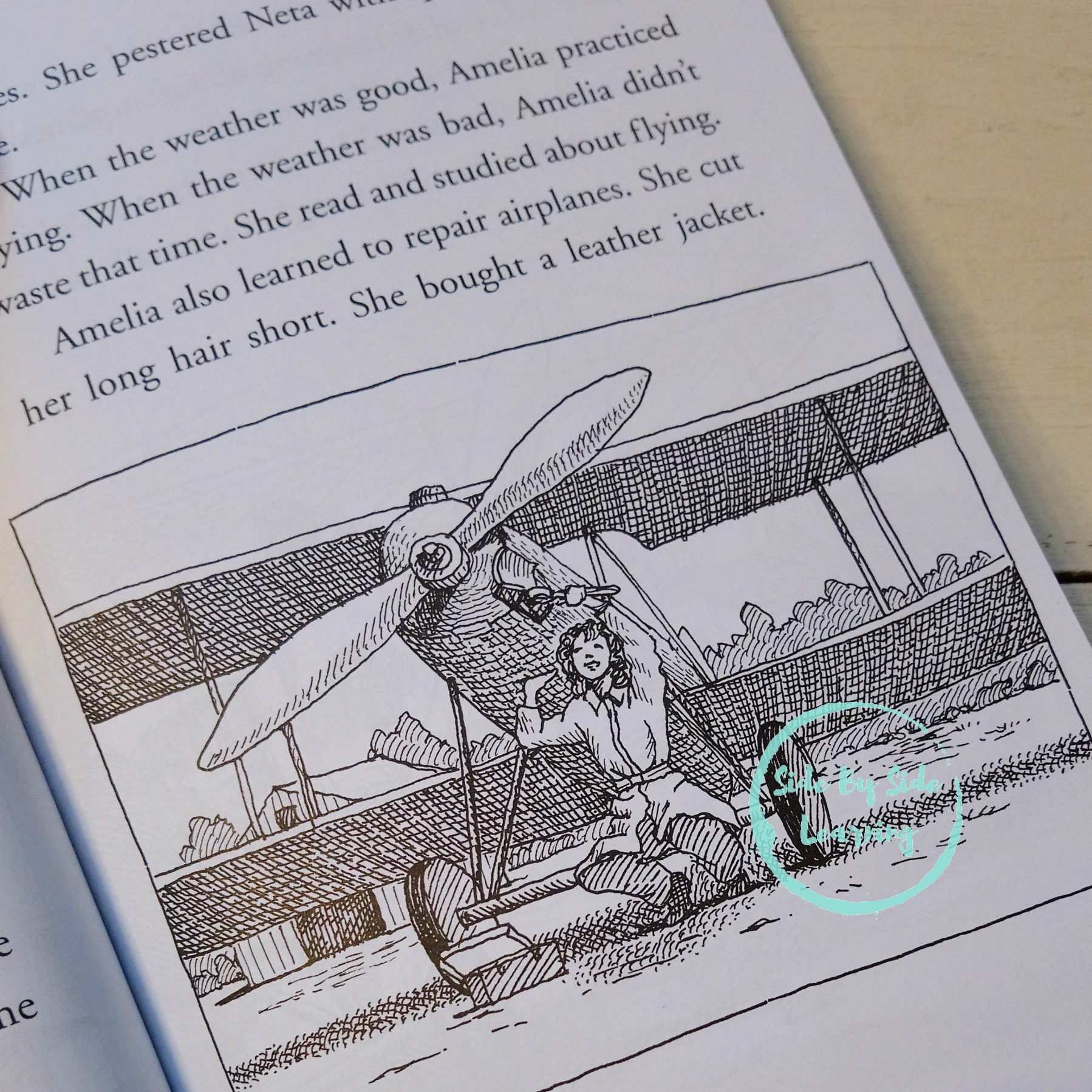Who Was Amelia Earhart Book Review Free Printable Study