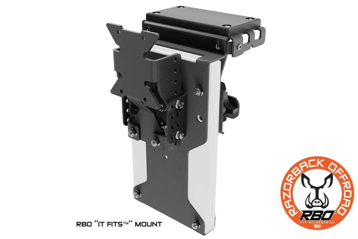 """RBO UTV Chainsaw Mounts - Chainsaw Mount for """"It Fits™"""" Mounting Location"""