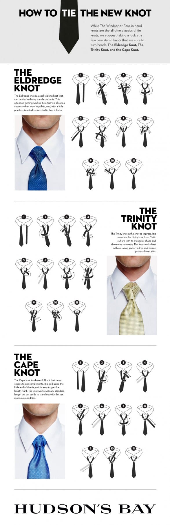Step by step method to tying a tie infographic side by side reviews get the coolest most modern ties click here ccuart Image collections