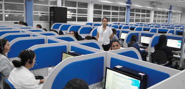 Large Call Center