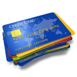 Stack Of Credit Cards