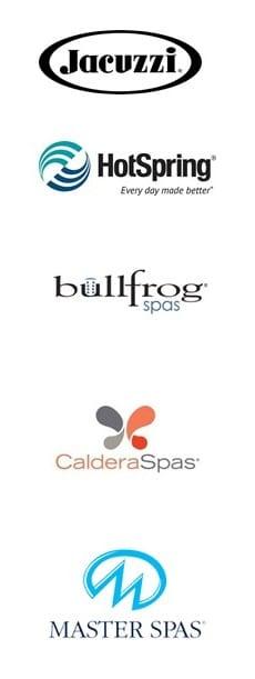 Best Hot Tub Brands - Logos