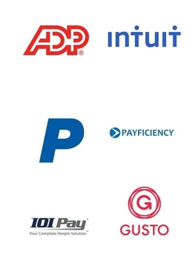 Best Payroll Companies Online - Logos